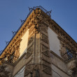 The Baroque Beneventano Palace facade at sunset — Stock Photo
