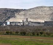 Italy, Maddaloni (Naples), cement factory — Foto de Stock