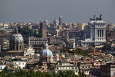 Italy, Rome, panoramic view of the city — Stock Photo
