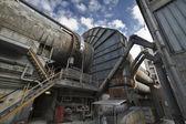 Italy, Maddaloni (Naples), cement factory, blast furnace — Stock Photo