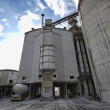 Cement factory in Italy - Stockfoto
