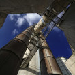 Cement factory in Italy — Foto Stock