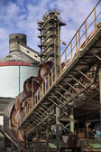 Cement factory in Italy — Stock Photo