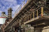 Fábrica de cimento em itália — Foto Stock