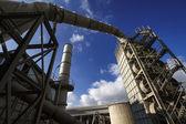 Italy, Maddaloni, cement factory — Stock Photo