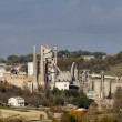 Italy, Maddaloni (Naples), cement factory - Foto Stock