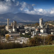 Italy, Maddaloni (Naples), cement factory - Stockfoto