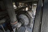 Itália, maddaloni (nápoles), fábrica de cimento, alto-forno — Foto Stock