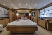 Italy, Naples, Abacus 70 luxury yacht, master bathroom — Stock Photo