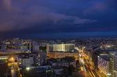 Vista portogallo, lisbona, la città al tramonto — Foto Stock