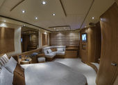 Master bedroom — Stock Photo