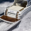 Stock Photo: Rizzardi 73 luxury yacht