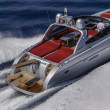 Rizzardi 63 luxury yacht - Stock fotografie