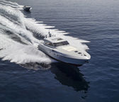 Rizzardi 73 and Rizzardi 90 luxury yachts — Stock Photo