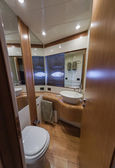 RIZZARDI 62HT luxury yacht, Vips bedroom — Stock Photo