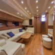 RIZZARDI 73HT luxury yacht, dinette - Stock fotografie
