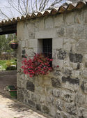 Italy, Sicily, Ragusa province, countryside, stone house — Stock Photo