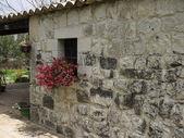 Provincia de italia, sicilia, ragusa, campo, casa de piedra — Foto de Stock