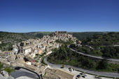 View of the baroque town — Stock Photo