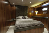 Italy, Viareggio, 82' luxury yacht, guests bedroom — Stock Photo