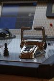 Italy, Viareggio, 82' luxury yacht, driving consolle — Stock Photo
