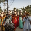 Stock Photo: India, Rajasthan, Jaipur, indiwomon wedding