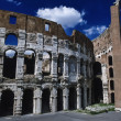 View of the Roman Colosseum — Foto de Stock