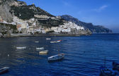 View of Amalfi (Salerno Province) — Stock Photo