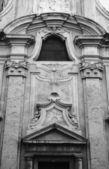 Italy, Tuscany, Pitigliano town, Santa Maria San Rocco Church — Stock Photo
