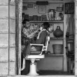 Stock Photo: Barber shop