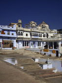 India, Rajasthan, Pushkar, view of the town — Stock Photo