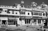 India, Rajasthan, Pushkar, old private house facade — Stock Photo