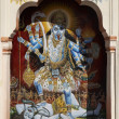 Religious hindu God painting — Stock Photo