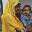 Indian woman with her baby — Stock Photo #31078683