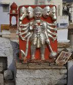 Kleine religiöse statue — Stockfoto