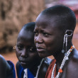 Kenya, Tsavo East National Park, Masai village, Masai girls — Stock Photo #32941265