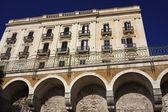 Italy, Sicily, Siracusa, Ortigia, old baroque building — Stock Photo