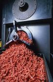 Italy, ground beef machine - Food — Stock Photo