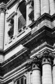 Barocke Kirche Fassade — Stockfoto