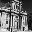 Baroque church facade — Stock Photo