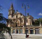 Vista de la fachada barroca de catedral de san juan — Foto de Stock