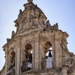 The baroque facade of St. Joseph Church — Foto Stock