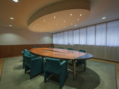 Office business meeting room — 图库照片