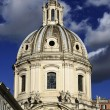 The Santa Maria di Loreto Church bell tower — Stock Photo