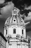Santa maria di loreto church bell tower — Stockfoto