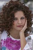 Jong meisje portret — Stockfoto