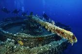 Sunken ship — Foto de Stock