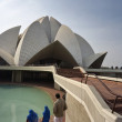 Lotus Temple — Stock Photo