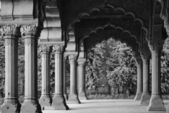 The Red Fort, Diwan-I-Am — Stockfoto
