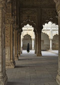 The Red Fort, Diwan-I-Am — 图库照片